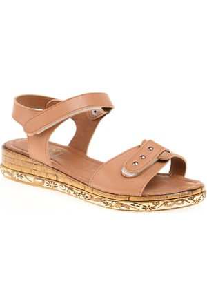Derigo Kadın Taba Sandalet