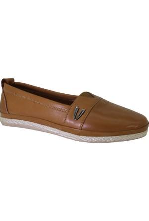 Despina Vandi Asl 1210-1 Günlük Kadın Deri Babet Ayakkabı