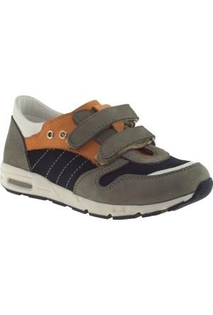 Perlina 1213 Tek Cırt Lacivert Çocuk Ayakkabı