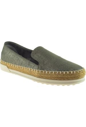 Greyder 51190 Zn Chic Casual Gümüş Kadın Ayakkabı