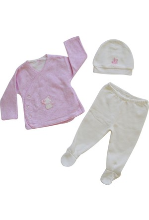 İdil Baby 7073 Kız Bebek Takımı
