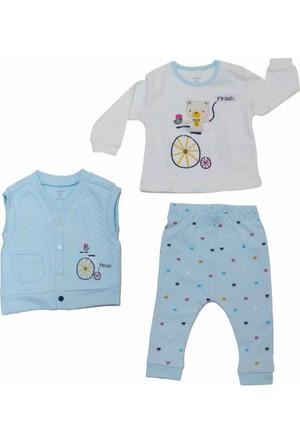 İdil Baby 8115 3'lü Bebek Takım