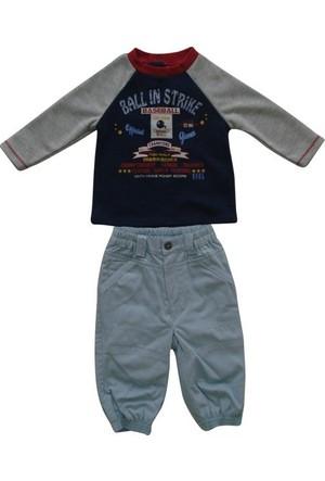 İdil Baby 4147 Pantolonlu 2'li Bebek Takımı