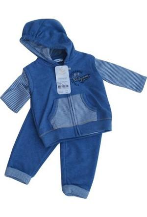 İdil Baby 4682 3 İplik Yelekli Bebek Takımı