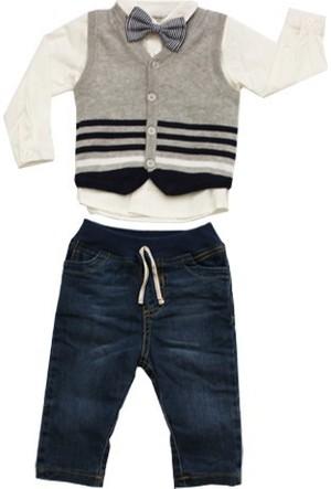 İdil Baby 5771 4Lü Erkek Bebek Takımı