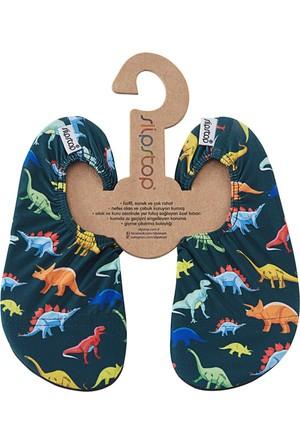 Slipstop Dino Erkek Çocuk Kaydırmaz Ayakkabı/Patik