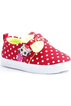 Gezer 02511 Günlük Kız Çocuk Keten Spor Ayakkabı