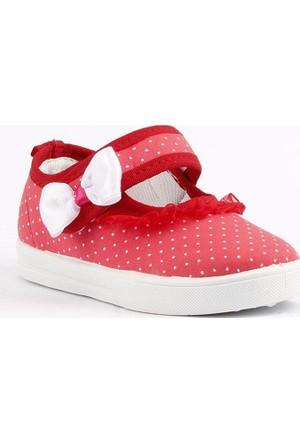 Gezer 2449 Günlük Kız Çocuk Keten Ayakkabı