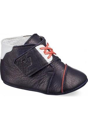 Vicco İlk Adım Deri Ayakkabı Lacivert