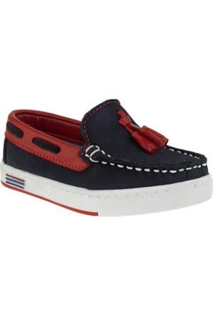 Vicco 910.Z.214 Deri Çocuk Lacivert Çocuk Ayakkabı