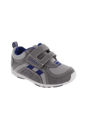 Pediped Hayden Leather Shoe Gri Lacivert Çocuk Ayakkabı