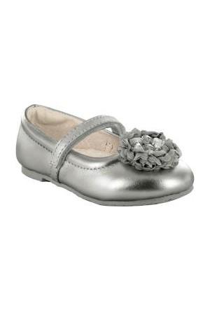 Pediped Genevieve Ilver Leather Balletgümüş Çocuk Ayakkabı