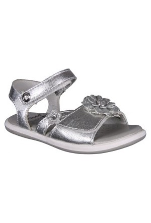 Pediped Rs1786-Sl-Crystal Silver-Gri Çocuk Sandalet