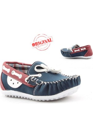 Fibinacci 1480-2 Günlük Erkek Çocuk Ayakkabı Fiyonklu