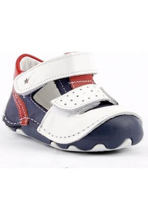 Teo Bebe 3400 %100 Deri Ortopedik Cırtlı Erkek Çocuk Ayakkabı