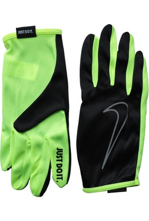Nike Men'S Rally Run Gloves Fa15 Xl Black/Volt N.Rg.D1.023