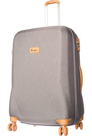 It Luggage Kumaş Orta Boy Valiz It1591-M Gri