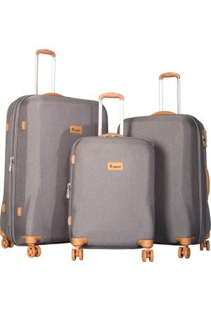 It Luggage Kumaş Set It1591-Set Gri