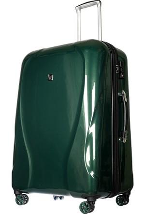 It Luggage Polycarbonate Büyük Boy Valiz It1886-L Yeşil