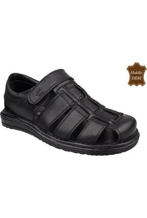 Wolfland 206 SA 32 Hakiki Deri Sandalet