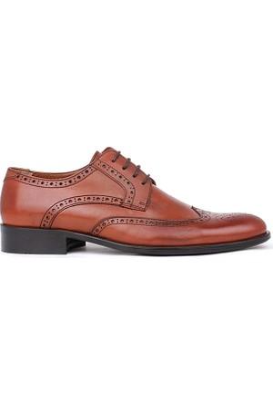 Crunell 207647 027 162 Erkek Taba Klasik Ayakkabı