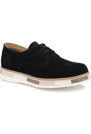 Jj-Stiller Pt-2 M 6686 Siyah Erkek Modern Ayakkabı