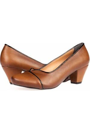 Aktenli Kadın Topuklu Ayakkabı