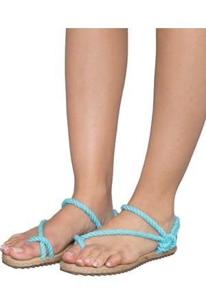 Gio&Mi F2 Turkuaz Sandalet