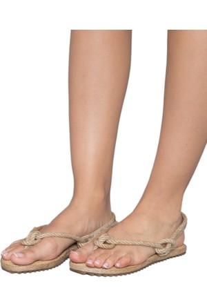 Gio&Mi F4 Bej Sandalet