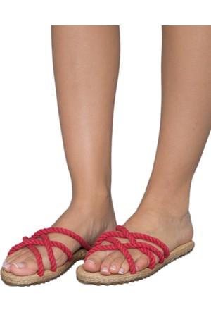 Gio&Mi F6 Kırmızı Sandalet