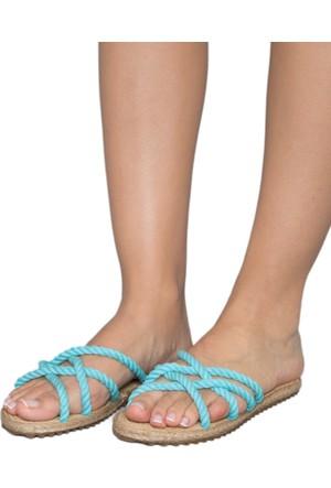 Gio&Mi F6 Turkuaz Sandalet