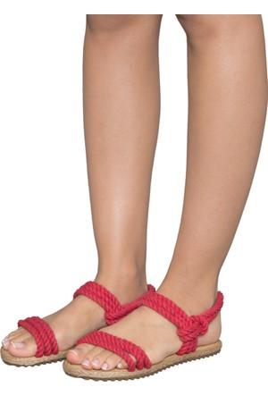 Gio&Mi F7 Kırmızı Sandalet