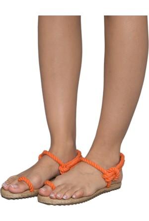 Gio&Mi F8 Turuncu Sandalet