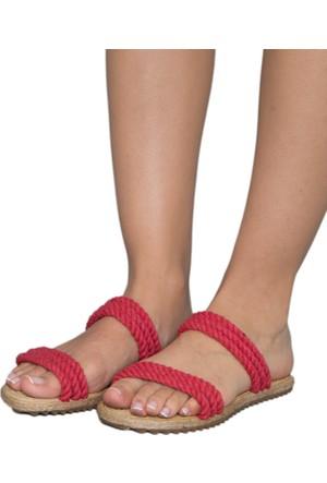 Gio&Mi F9 Kırmızı Sandalet