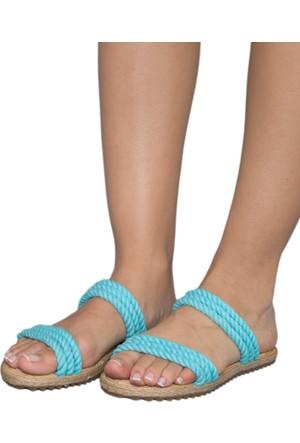 Gio&Mi F9 Turkuaz Sandalet