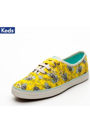 Keds Wf49726 Ch Ts Floral Yellow Ayakkabı