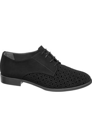 Graceland Siyah Oxford Ayakkabı