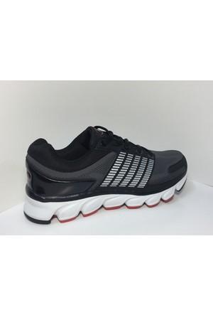 M.P 162-1512 Marginal Siyah - Gri Yürüyüş Spor Koşu Ayakkabı