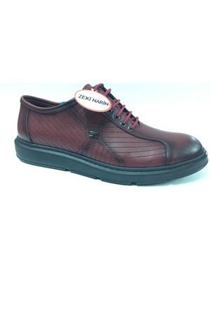 Zeki Narin 3025 Bordo Casual Erkek Ayakkabı