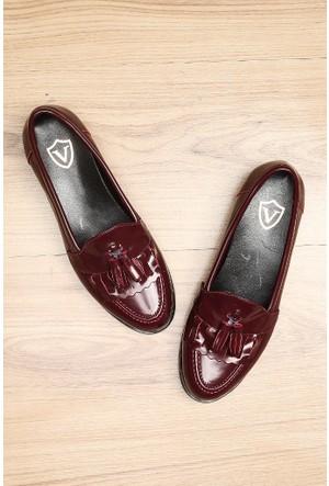 Limited Edition Bordo Bayan Ayakkabı