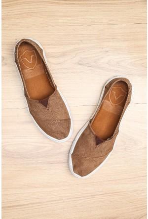 Limited Edition Krem Rengi Bayan Hakiki Deri Ayakkabı
