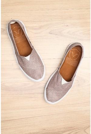Limited Edition Füme Bayan Hakiki Deri Ayakkabı