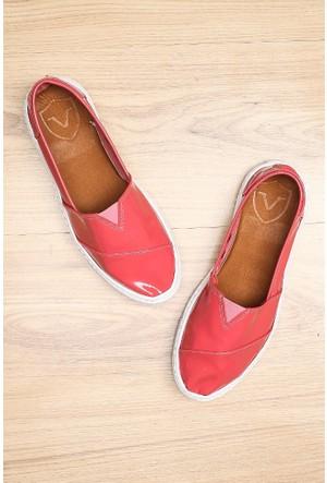 Limited Edition Fuşya Bayan Hakiki Deri Ayakkabı