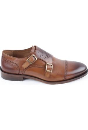 Veyis Usta Çift Tokalı Zımbalı Erkek Ayakkabı