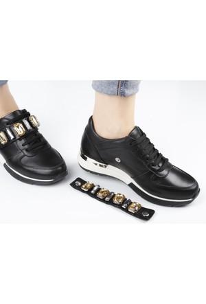 Veyis Usta Kemeri Taşlı Bayan Spor Ayakkabısı