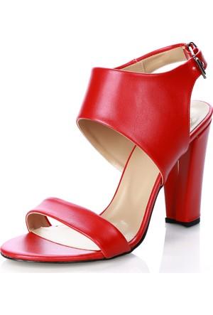 Türker 004 Kırmızı Sandalet