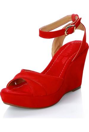 Mag Shoes 9684 Kırmızı Ayakkabı