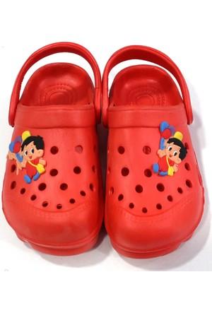 Hobi Store Balonlu Çocuk Deniz Ayakkabısı Kırmızı