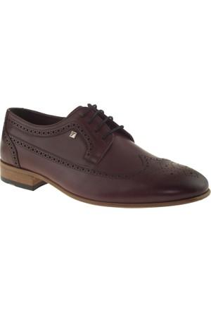 Fosco 7115 Klasik Neolit Bordo Erkek Ayakkabı
