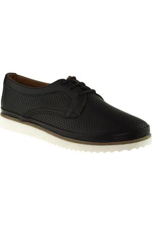 Estile 101-054 Bağlı Siyah Kadın Ayakkabı